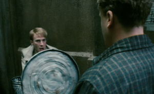 fight scene Captain America, Steve Rogers