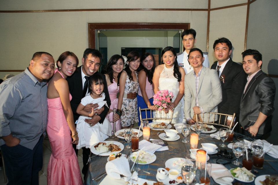 February - I flew to Manila to be one of the wedding singers of my very good friend Arianne.