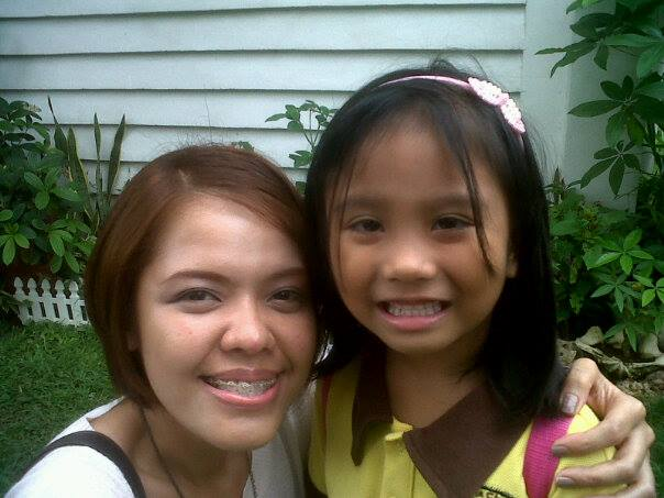 """Today, I got to do """"Ate-duties"""" for my inaanak. I'm an only child so today was my first time to help a four-year take a bath, get dressed with her uniform, prepare her stuff, and then bring her to school. I super enjoyed it though. 'Twas yet another learning experience!"""