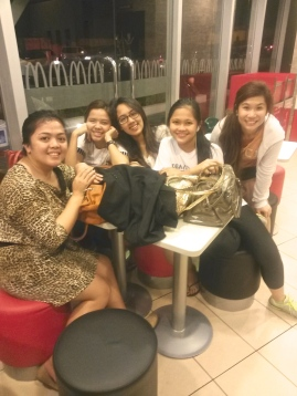 Glad to have spent time with these girls after a long day. <3