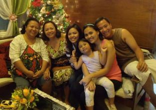 Ate Jade and the family