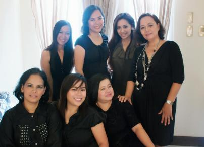 Once upon a time when my Mom's Victory Group decided they'd have a photoshoot complete with matching dresses and make-up!